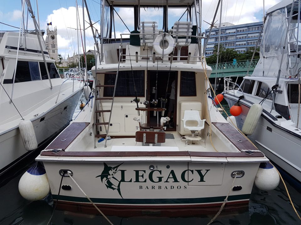 Legacy Fishing Charters in Barbados 2017