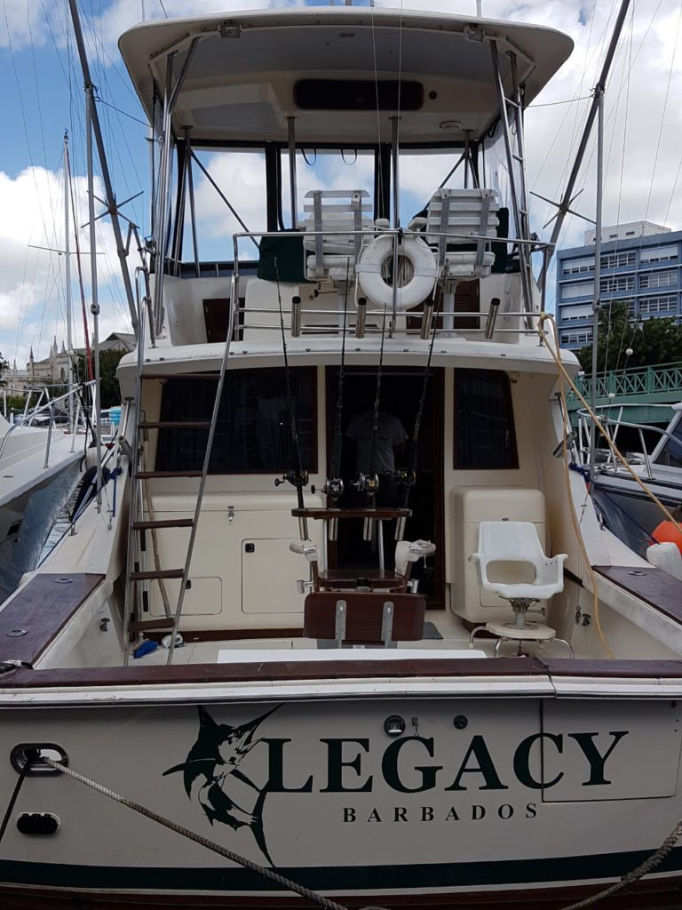 New Legacy Fishing Charters Boat - November 2017