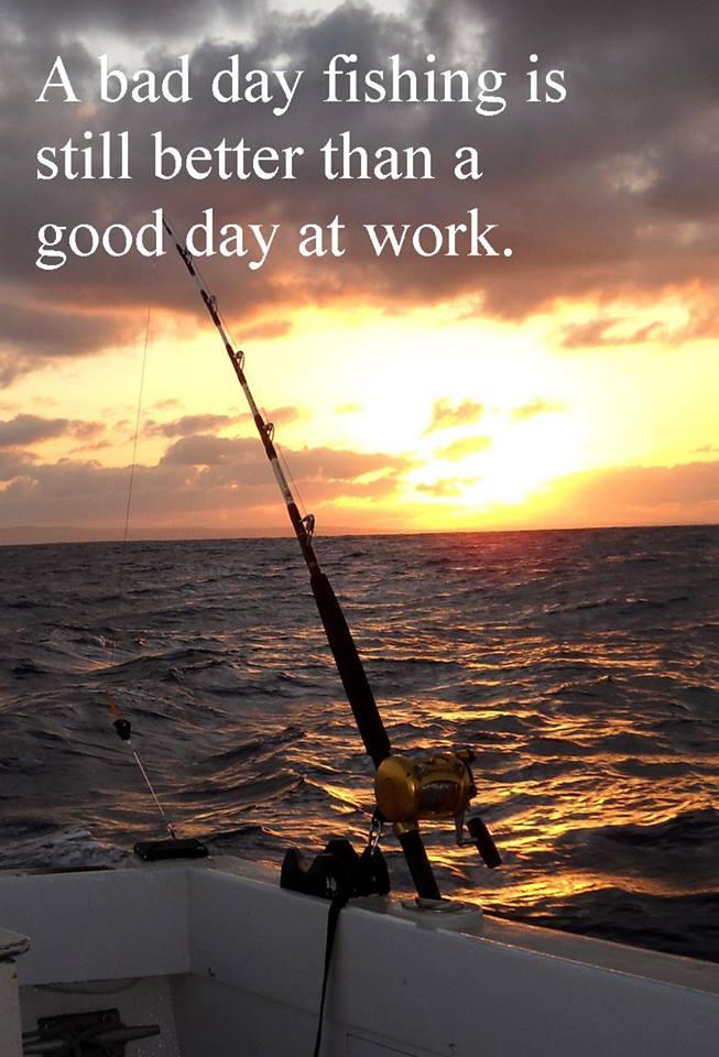 Sunset while Fishing